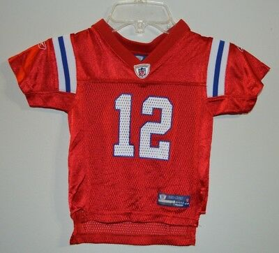 reputable site 2d89f 0eaf2 clearance red tom brady throwback jersey 69594 f707b