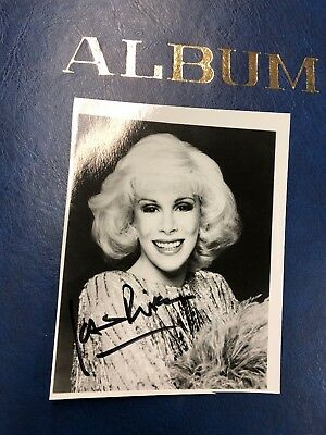 Joan Rivers Hand Signed Original Photo Autograph