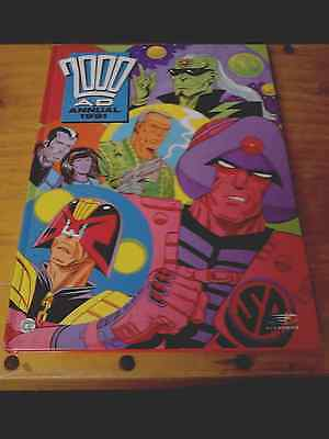 2000AD Annual 1991. Fleetway. H/B. used.