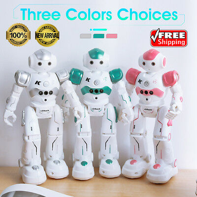 RC Remote Control Robot Smart Dancing Walking Sound Gesture Sensor Toy Kids Gift