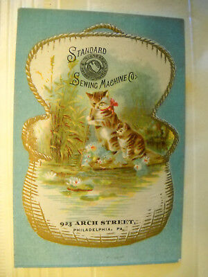 Sewing Machines Victorian Trade Cards Merchandise Memorabilia Mesmerizing Arch Sewing Machine Co Philadelphia Pa