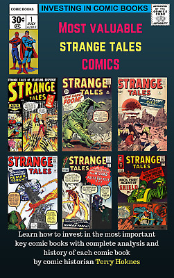 INVESTING IN COMIC BOOKS - Top Most Valuable STRANGE TALES key issue comic