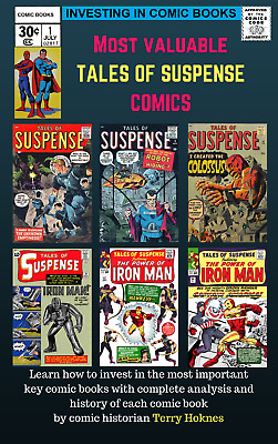 INVESTING IN COMIC BOOKS - Top Most Valuable TALES OF SUSPENSE key issue comic