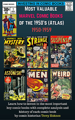 INVESTING IN COMIC BOOKS - MARVEL 1950s Atomic Top Most Valuable Books horror