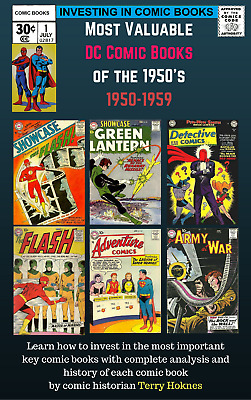INVESTING IN COMIC BOOKS - DC 1950s Atomic Top Most Valuable Books horror sci-fi