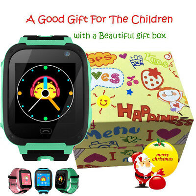 Waterproof Kids Smart Watch Anti-lost Safe GPS Tracker SOS Call For Android iOS