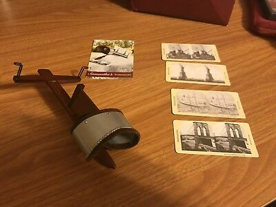 American Girl Doll Samantha Stereoscope & 4 Pictures