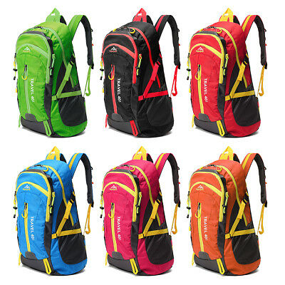 40L Zaino Uomo Donna Sportivo Zaino Impermeabile Trekking Borsa Backpack Bag IT