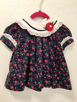 Vintage Baby Togs Baby Dress Size 12 Months