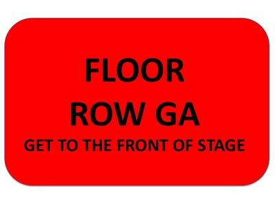 JUSTIN TIMBERLAKE Tickets FedExforum 1/12~FLOOR GA~GET TO STAGE AS CLOSE AS WANT