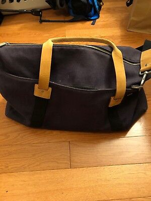 46efe6267f Jack Spade Duffle Travel Gym Workout Carry On Sized Bag