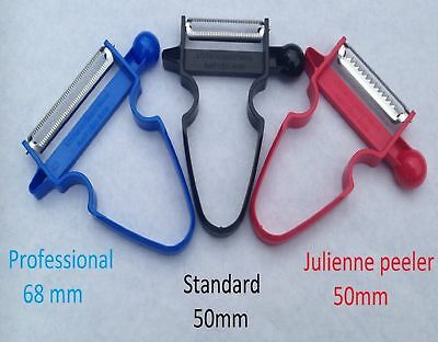 TRIO PEELERS SLICER,PEELER& JULIENNE MAKER, Australian made, WATCH VIDEO
