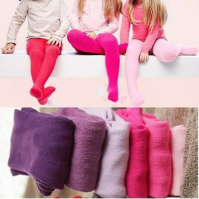Newborn Baby Girls Toddler Kids Tights Stockings Pantyhose Pants 0-24 Month Size