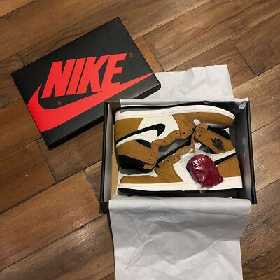 super popular fd435 8f95a Nike Air Jordan 1 Retro High OG Rookie of the Year EU 44 US 10 NEU