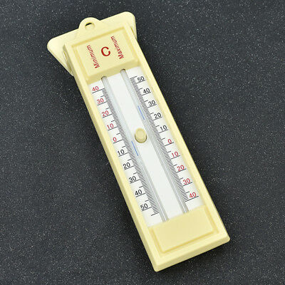 Maximum and Minimum Thermometer U-type Push Button Temperature Accessories Tool