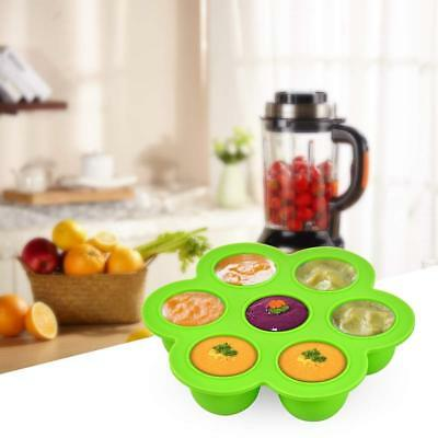 Silicone Freezer Tray For Baby Food Storage - Reusable Baby Food Storage Contain