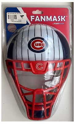 Chicago Cubs MLB Baseball Backstop Catcher Helmet Mask