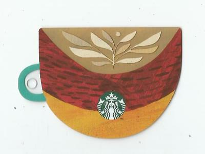 Starbucks card Poland Coffee Cup Leave