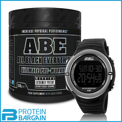 Applied Nutrition ABE Ultimate Pre Workout + Free Applied Nutrition Sports Watch