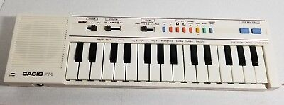 Vintage 1980's Casio PT-1 Synth Synthesizer Electronic Keyboard - Parts / Repair