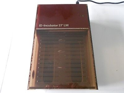 Surgical/ Medical. DiaMed ID Incubator 37 LM No.441. Free UK P&P.