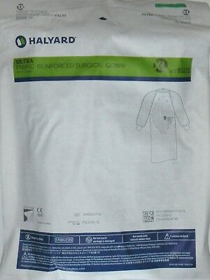 Halyard 95221 Ultra Fabric-Reinforced Surgical Gown XLARGE QTY 28 Gowns