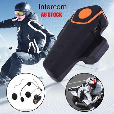 Helmet Bluetooth Intercom Headset Automatically Answer  Waterproof Headset Kits