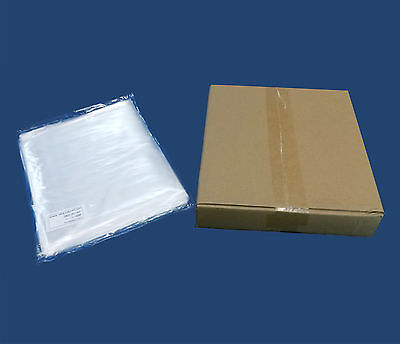 """1000 7x9"""" Clear Poly Bags 1Mil Flat Open Top Food Grade LDPE Plastic Baggies"""