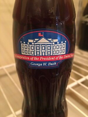 [MINT, UNOPENED] George W. Bush Inauguration Collectible Coca-Cola bottle