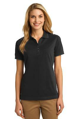 L454 Port Authority Rapid Dry Tipped Polo Women Sport Shirt NEW