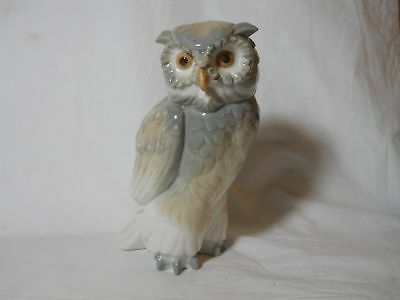 1979 Nao By Lladro Owl Figurine Excellent