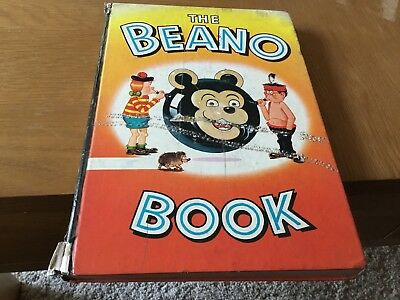 THE BEANO BOOK 1965 DC Thomson Comic Annual (Pub 1964)