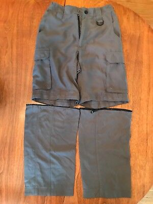 Boy Scouts Switchback Convertible Nylon Uniform Pants Size Relaxed Extra Small