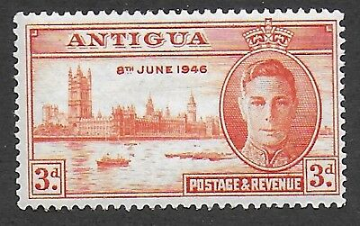 Antigua 1946, 3d orange Victory, SG110, Sc97, mint never hinged, MNH.