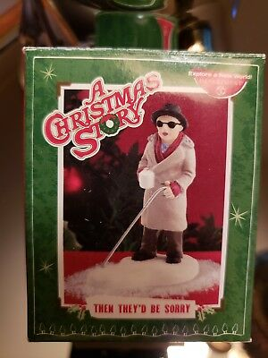 Department 56 A Christmas Story Then They'd Be Sorry