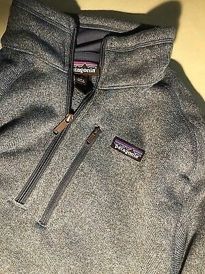 Patagonia - Better Sweater 1/4 Zip Fleece Jacket Navy Pullover UVP 119€ M