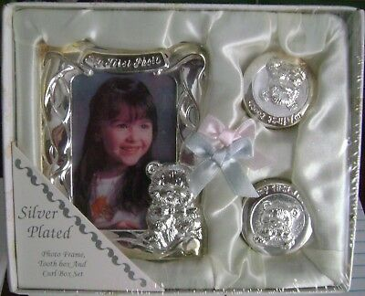 Baby 1st Photo Frame, Tooth Box & Curl Box...Brand New!