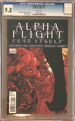 Alpha Flight #4 CGC 9.8