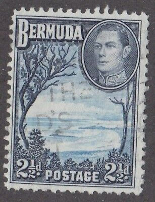 Bermuda, 1938, 2.5d blue and black,  SG113, Sc 120, used.