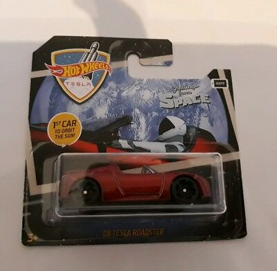 Hot Wheels 2019 08 Tesla Roadster Space 1st Car to Orbit the Sun OVP