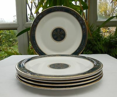 Royal Doulton 2nd Quality Carlyle H5018 27cm Dinner Plates x 6