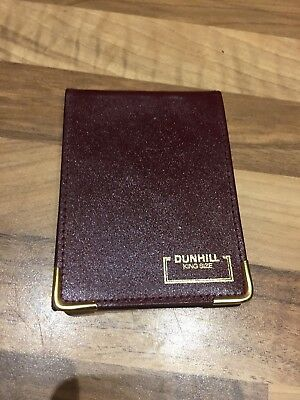 Dunhill King Size Note Pad Collectors Vintage