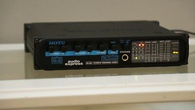 MOTU Audio Express Hybrid Firewire USB Audio Interface