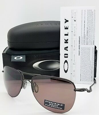 65f07b231f NEW AUTHENTIC Oakley Tailpin sunglasses Carbon Prizm Daily Polarized 4086-04  NIB