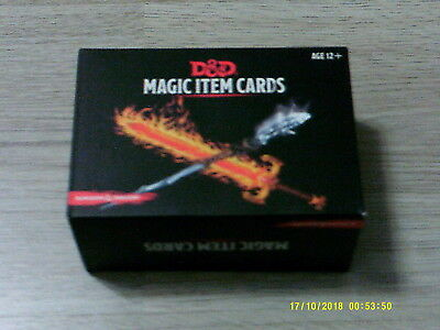 D&D 5th Edition Magic Item Cards Box Accessory Gale Force Nine New