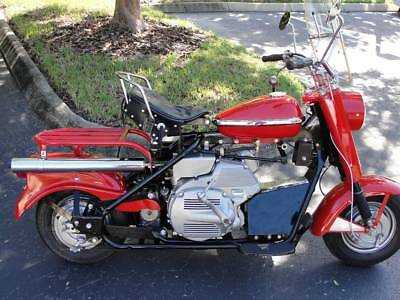 1962 Other Makes Cushman Eagle  1962 Cushman Silver Eagle 9 horse Electric Start  RESTORED 9 MILES!! TRADE ???