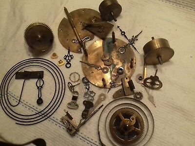 Joblot Of Spare Clock Parts