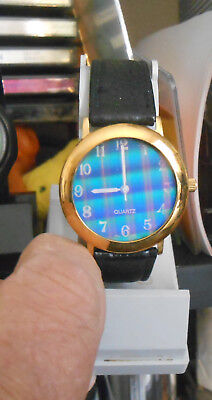 Hologram Watch Colored Lines  (Needs Battery)