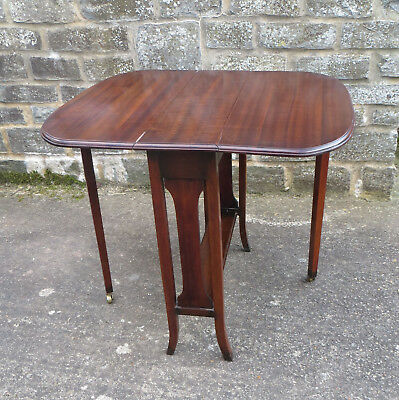 Antique Mahogany Small Sutherland Folding Table