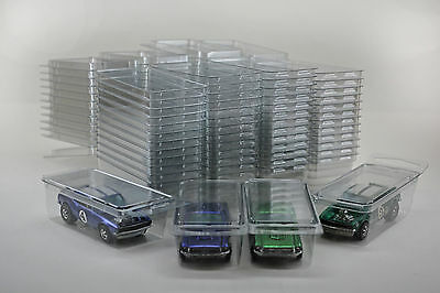 50 - Hot Wheels Plastic Car Cases - Diecast 1:64 Boxes (Brand new clamshells)